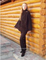 Пончо женское с брюками