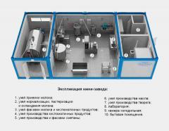 Модульный молочный мини-завод КОЛАКС-1007