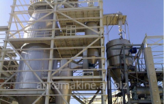 Plant on production of oxides for metallurgy,