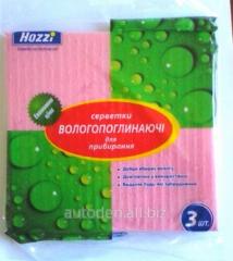 Napkins cellulose TM Hozzi of 3 pieces.