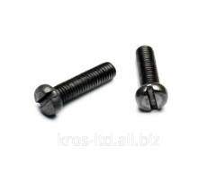 The screw with a cylindrical head of...