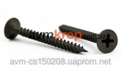 The self-tapping screw black on metal from 3,5х16