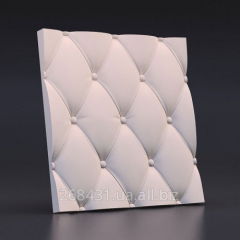 Wall decorative 3D/3D panels plaster the Skin
