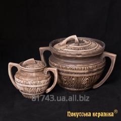 Banyak, gorshchik z handles Bondarsky 0,5l, rozm_r
