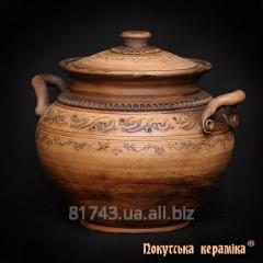 Banyak, gorshchik z handles Shlyakhtyansky 0,25l,
