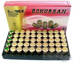 Blank cartridges (starting) 9 mm, 1 pack (50