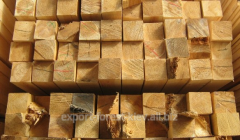 Bar 50х50 coniferous species