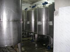 Capacities from stainless steel of any complexity