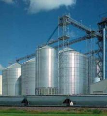 Silo for grain and other loose products