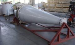 Cyclones, the capacitor equipment from stainless