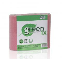 Туалетная бумага, в рулонах, розовая в упаковке 4