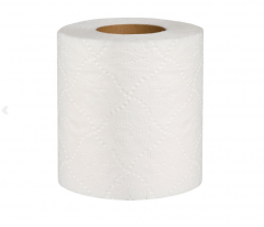 Toilet paper two-layer white with perforation, 18