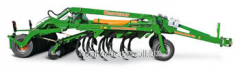Combination a cultivator - a disk harrow of