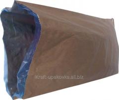 Open paper bags 100х50х90 brown, white