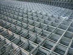 Grids welded for reinforced concrete designs from