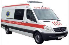 Скорая медицинская помощь на базе автомобиля