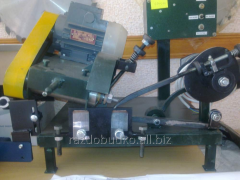 Sharpening machine for band saw blades