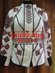 Сорочка вишита жіноча Борщівська №12 BL-7.1
