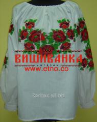 Сорочка вишита жіноча Макове Поле BL-12