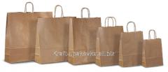 Kraft packages of handles