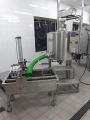 Pass Lakt's cheese dairy of 300 l