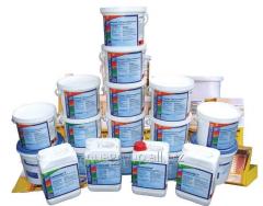 Chemistry for the pool of Chemochlor Stabilisator