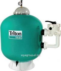 Filtering capacity of TRITON TR 60, 610 of mm, 14