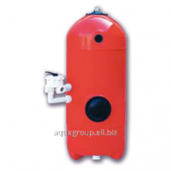 Filtering capacity of San sebastian 640MM, 1,2 of