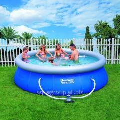 Inflatable pool of BestWay of 457 cm x 107 cm