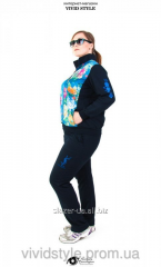 Female spring sport wear of the big sizes