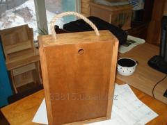 Декор-Ящик,упаковка деревьяна