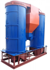 Инновация: Аэродинамический сепаратор с дополнительной очисткой зернового материала