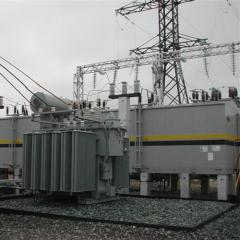 Transformer substations. High-voltage equipmen