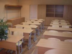 School desks and chairs adjustable