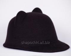 Hat zhokeyka - ears