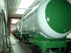 Инновация: Механизм для очистки внутренней поверхности цистерны