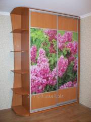 Sliding wardrobe 1000 x 600 x 2400