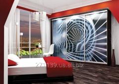 Sliding wardrobe 2600 x 600 x 2400 Luxury series