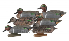 Чучела уток чирки Greenhead Gear® Pro-Grade Series™ Green wing teal Duck Decoys
