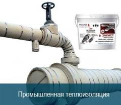 Thermal insulation for pipes heat-resistant