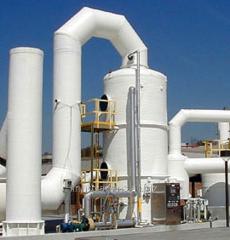 Інновація: Пристрій для мокрого очищення газів