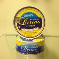 Natural cod liver «BarencRus»