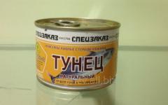 "Tuna natural ""Spetszakaz"