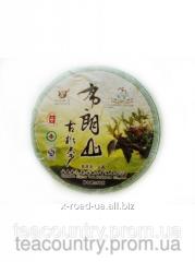 Чай Шен Пуэр Чай Бу лань Шань( блин вес 357гр)