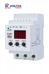 The relay RN-104 voltage