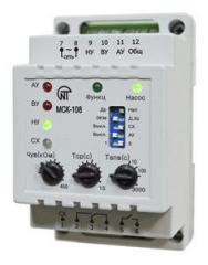 Ελεγκτής αντλίας σταθμό MSK-108 (διακόπτες στάθμης, διακόπτες πίεσης)
