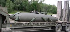 Мягкий резервуар для хранения и транспортировки ГСМ 2000 л