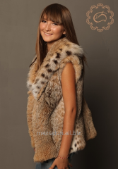 Fur vests to order