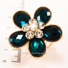 Брошь - кольцо для платка, (3 см) 222141(3)
