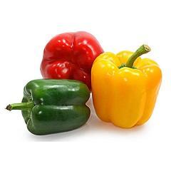 Pepper sweet. Red, green.